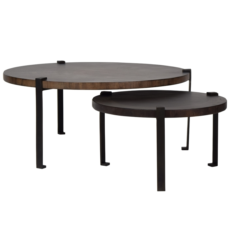 Hw Home Cluster Cocktail Table