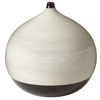 black-brown-pixelated-ball-vase-large-front1