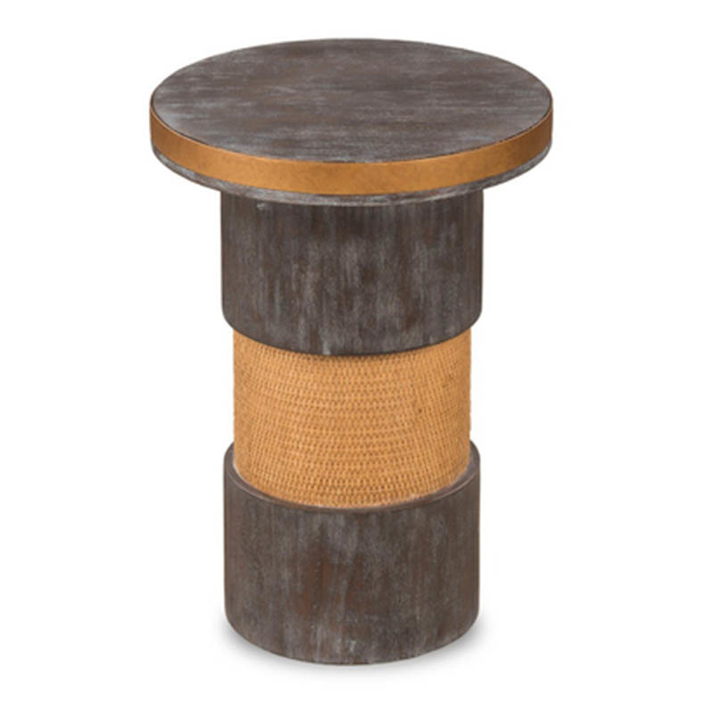 Sheldrake-Side-Table-Charcoal-Gray-Brass-Front1