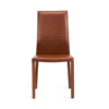 Vera-Dining-Chair-Cognac-Front1